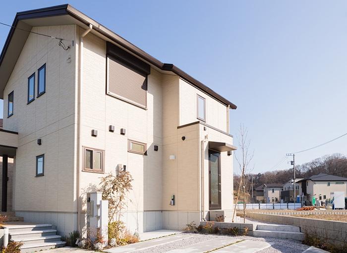 綺麗な住宅の写真